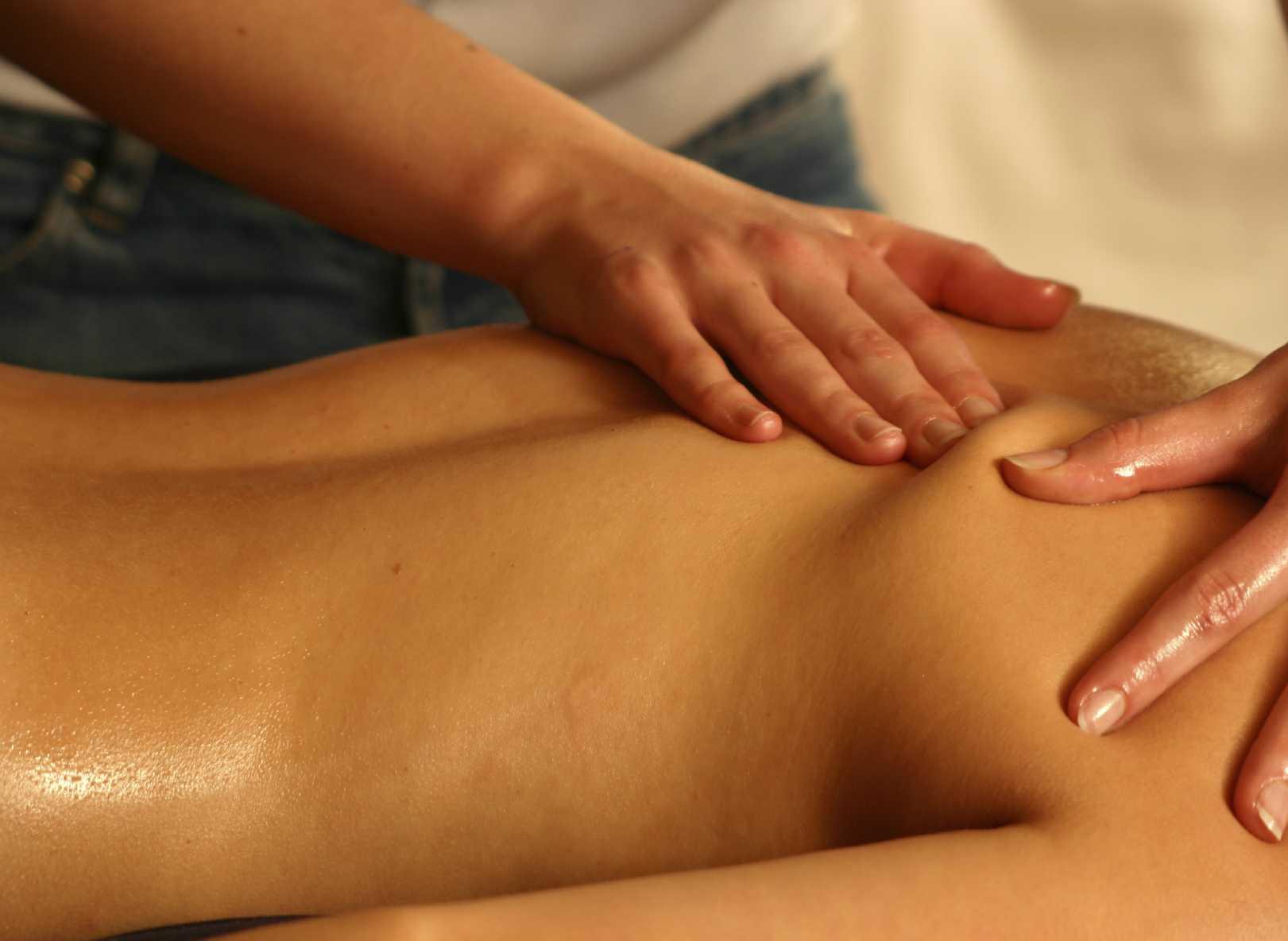 massage feeling sick