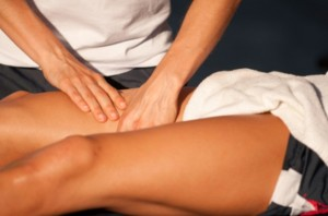 male massage therapist